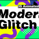 Modern Glitch Titles Version 02 - VideoHive Item for Sale