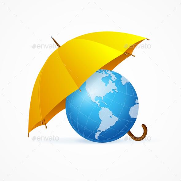 Save The Planet Concept - Miscellaneous Conceptual