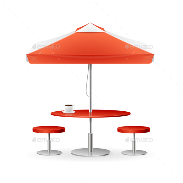 Parasol Promo Summer Cafe - Man-made Objects Objects