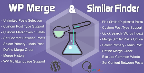 WP Merge + Similar Finder | Optimization & SEO Tool - CodeCanyon Item for Sale
