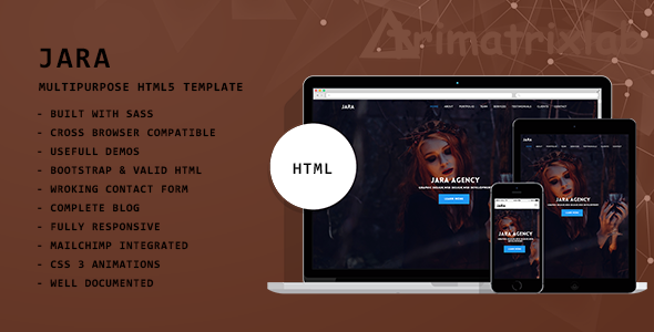 JARA | Multipurpose HTML5 Template - Business Corporate
