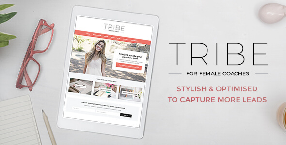 Tribe – Feminine Coaching Business WordPress Theme