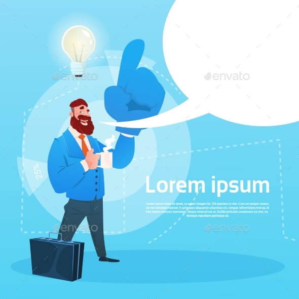 Businessman New Idea Concept - Concepts Business