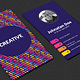 Creative Vertical Business Card - GraphicRiver Item for Sale