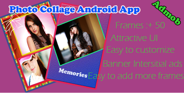 Amazing Photo Collage Android App - CodeCanyon Item for Sale
