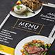 Chalkboard Restaurant Menu - GraphicRiver Item for Sale