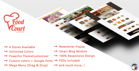 Food Shop – Responsive Prestashop Theme