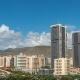 Tropical City Landscape. City Panorama. Tenerife. .