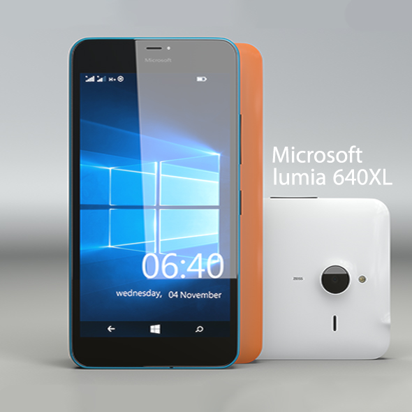 lumia 640XL - 3DOcean Item for Sale