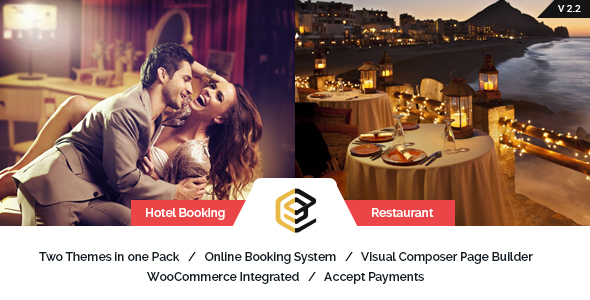 Pearl Restaurant and Hotel WordPress theme