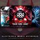 Electronic Music Artworks CD/DVD Template Bundle Vol. 2
