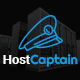 HostCaptain – Hosting and Business PSD Template Nulled