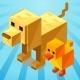 Crossy Animal Road - Crossy Road Clone - Buildbox 2 Game Template