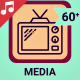 Media Icons and Elements