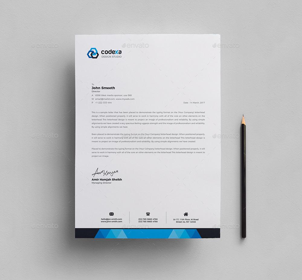 Corporate Letterhead by generousart – Corporate Letterhead