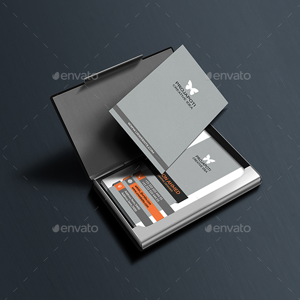 Smart Vertical Business Card - Business Cards Print