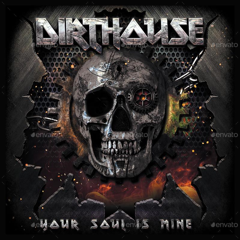 Heavy Metal CD Cover By Novuz_design