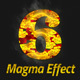 Magma Text Effect Photoshop Action - GraphicRiver Item for Sale