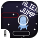 Alien Jump - HTML5 Game (CAPX) - CodeCanyon Item for Sale