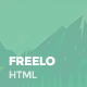 Freelo - Creative PRemium HTML Template - ThemeForest Item for Sale
