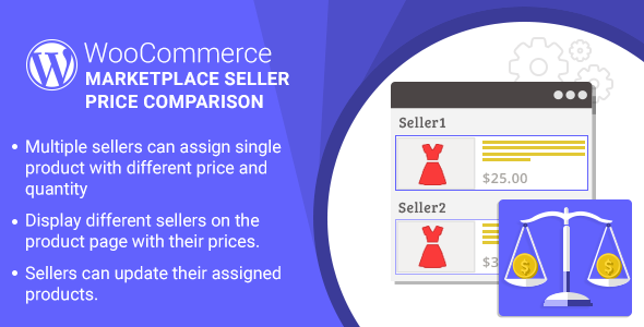 WordPress WooCommerce Marketplace Seller Price Comparison Plugin - CodeCanyon Item for Sale