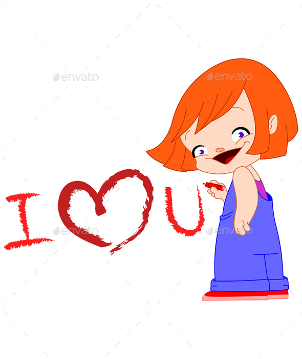 I Love You Girl - Valentines Seasons/Holidays