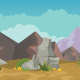 The Desert Background