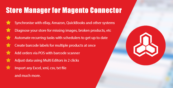 Store Manager for Magento Connector - CodeCanyon Item for Sale