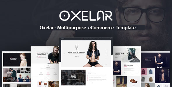 Oxelar – Multipurpose eCommerce Template