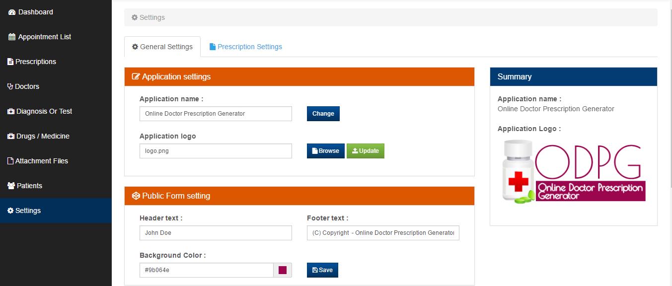 Online Doctor Prescription Generator by Vrokom | CodeCanyon