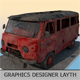 Retro Car Volkswagen Bus 1969 Full textures 130 picture