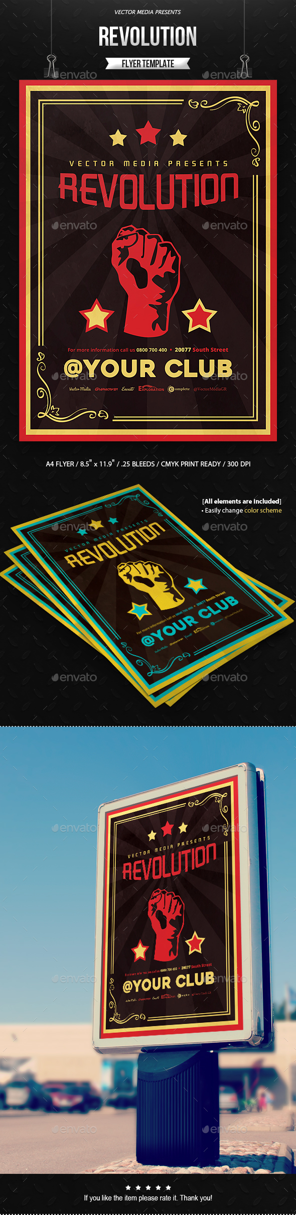 Revolution - Flyer - Miscellaneous Events