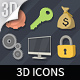 100 Animated 3D Icons for Explainer Video - VideoHive Item for Sale