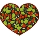 Heart with Traditional Russian Pattern Khokhloma. - GraphicRiver Item for Sale