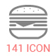 141 Food/Drink/Kitchen Stroke Icons - GraphicRiver Item for Sale