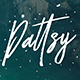 Dattsy Signature Brush Font - GraphicRiver Item for Sale
