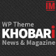 Khobari - News & Magazine WordPress Theme - ThemeForest Item for Sale