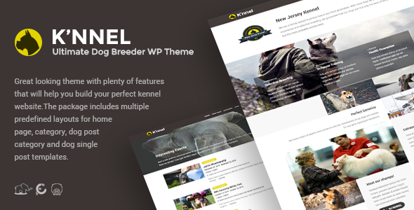 Image of Knnel - Ultimate Dog Breeder WP Theme