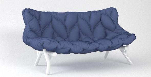 Sofa Foliage Kartell - 3DOcean Item for Sale