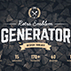 Logo Maker | Retro Emblem Generator - GraphicRiver Item for Sale
