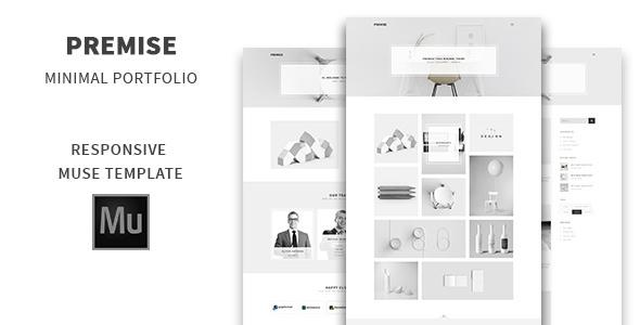 Premise – Minimal Portfolio Muse Template
