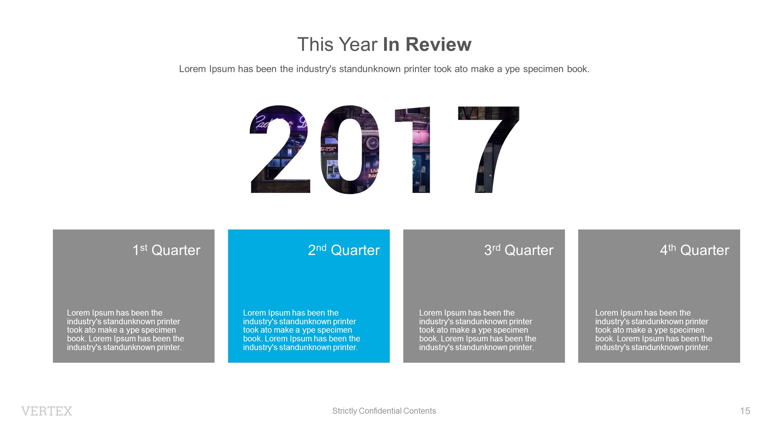 powerpoint templates year in review image collections - powerpoint, Presentation templates