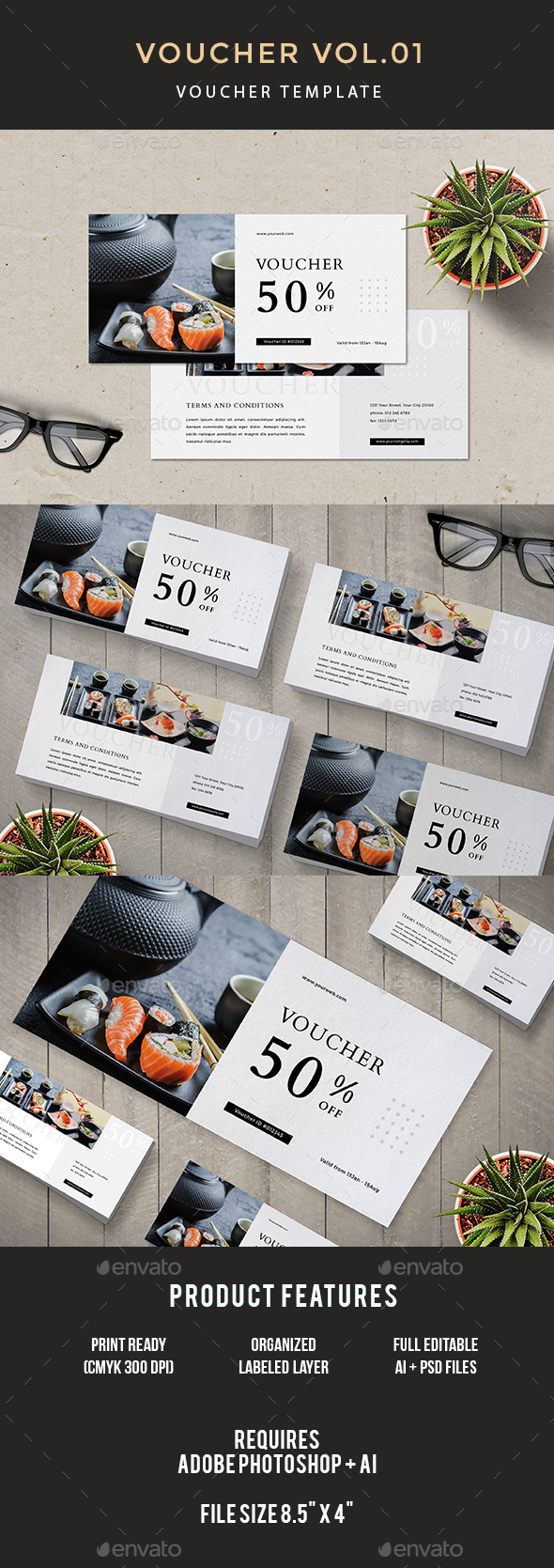 Voucher - Loyalty Cards Cards & Invites