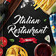 Italian Restaurant Menu Flyer - GraphicRiver Item for Sale