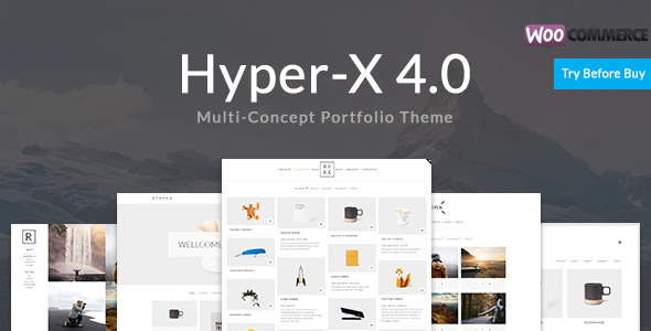 HyperX – Portfolio for Freelancers and Agencies