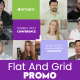 Flat and Grid Promo - VideoHive Item for Sale