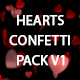 Hearts Confetti Pack V1 - VideoHive Item for Sale