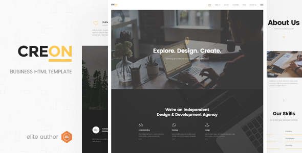 Creon - Business HTML Template - Business Corporate