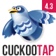 CuckooTap - One Page Parallax WP Theme Plus eShop Nulled