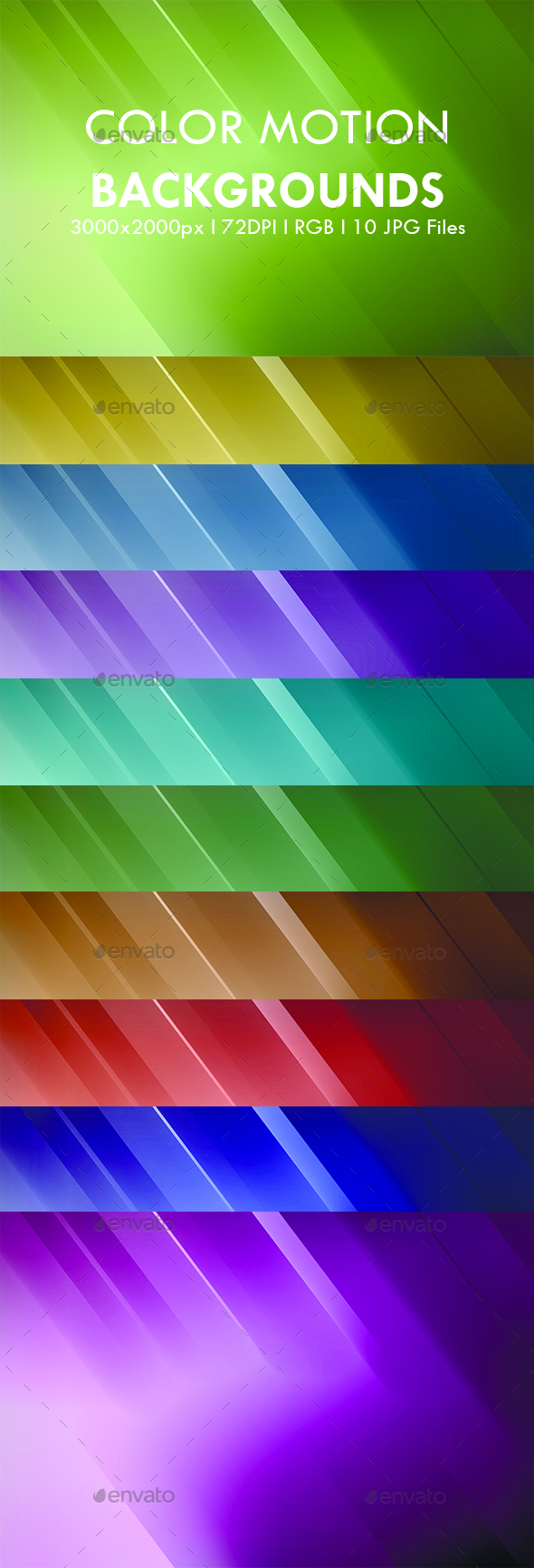 Color Motion - Abstract Backgrounds